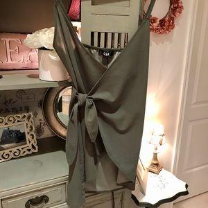 BNWT Wrap Tie Top / Dress